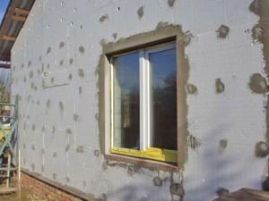 Утепление фасадов стен пенопластом Кривои Рог