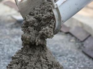 строительный раствор бетон