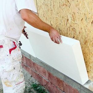 Утепление стен домов пенопластом Сумы