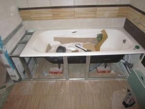 Как установить акриловую ванну в Москве