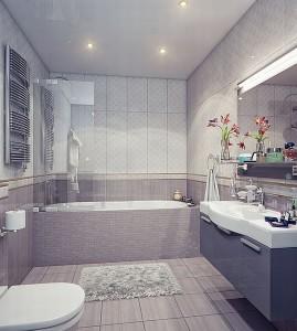 Как сделать ванную комнату неординрной